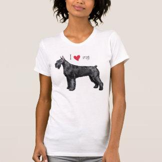 I Love my Giant Schnauzer T-shirts