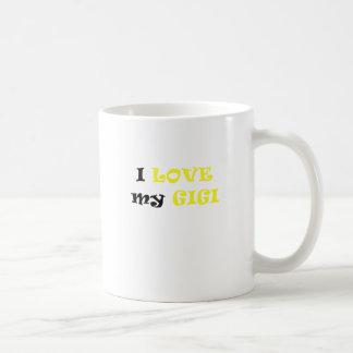 I Love my Gigi Classic White Coffee Mug