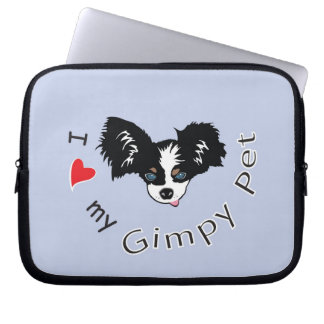 I love my Gimpy Pet Computer Sleeves