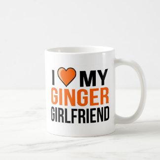 I Love My Ginger Girlfriend Coffee Mug