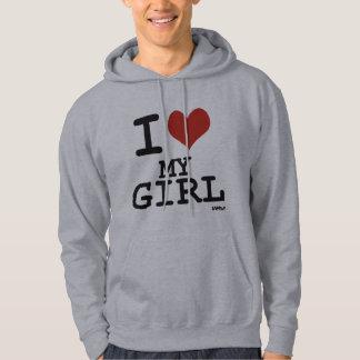 I love my girl hoodie