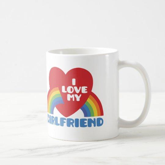 I Love My Girlfriend Coffee Mug
