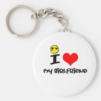 I love my Girlfriend Keychain