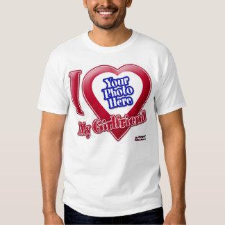 I Love My Girlfriend - Photo T Shirt