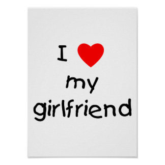 I Love My Girlfriend Poster