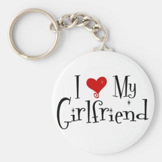 I Love My Girlfriend (v2) Keychain
