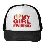 I Love My Girlfriend Valentines Day Heart 14th Feb Hats