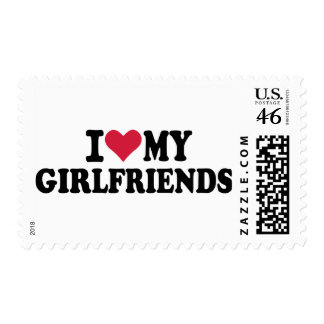 I love my girlfriends stamps