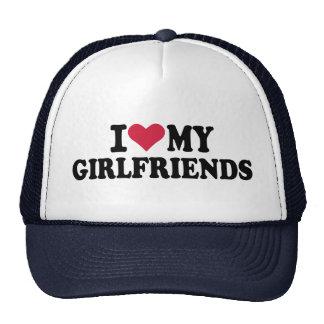 I love my girlfriends trucker hats