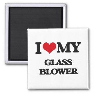 I love my Glass Blower Fridge Magnet