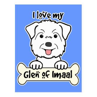 I Love My Glen of Imaal Postcard