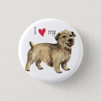 I Love my Glen of Imaal Terrier Button