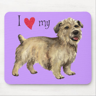 I Love my Glen of Imaal Terrier Mouse Pad