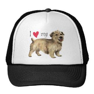 I Love my Glen of Imaal Terrier Trucker Hat