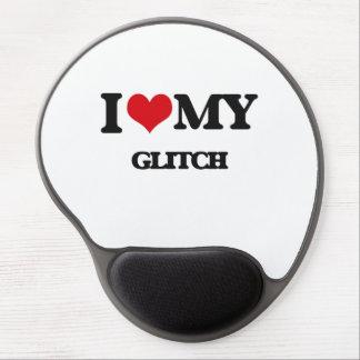 I Love My GLITCH Gel Mouse Pad
