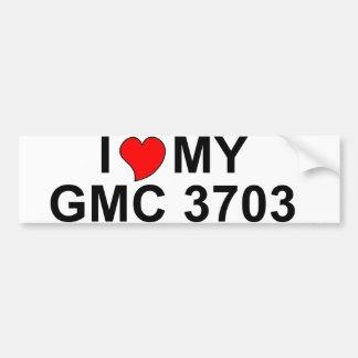 I Love My GMC 3703 Bumper Stickers