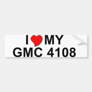 I Love My GMC 4108 Bumper Stickers
