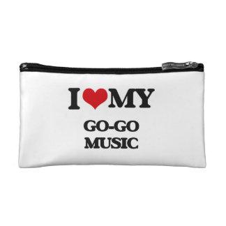 I Love My GO-GO MUSIC Makeup Bag
