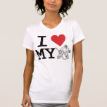 I Love My Goalie T-Shirt (hockey)
