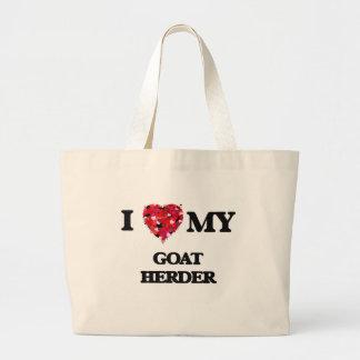 I love my Goat Herder Jumbo Tote Bag