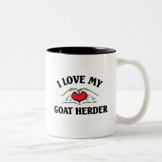 I love my Goat Herder Two-Tone Coffee Mug