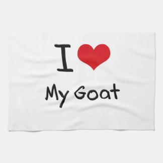 I Love My Goat Kitchen Towels