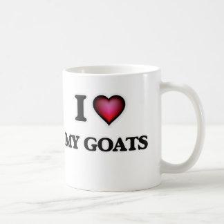 I Love My Goats Coffee Mug