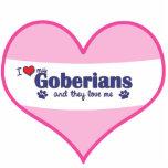 I Love My Goberians (Multiple Dogs) Statuette