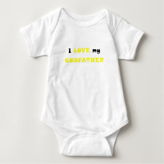 I Love my Godfather Baby Bodysuit