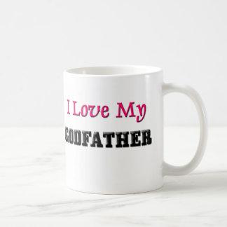 I Love My Godfather Classic White Coffee Mug