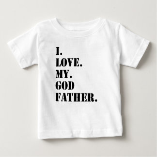 I Love My Godfather Tee Shirt