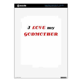 I Love my Godmother iPad 3 Skins
