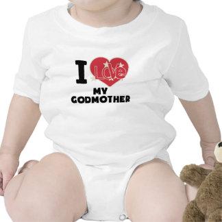 I Love My Godmother Baby Bodysuit