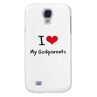 I Love My Godparents Samsung Galaxy S4 Cover