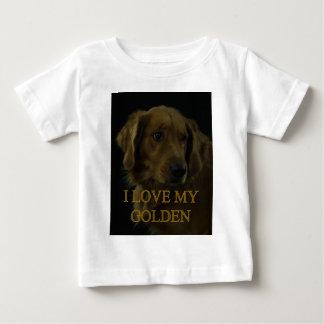 I Love My Golden Baby T-Shirt