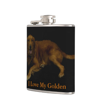 I Love My Golden Flask