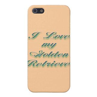I Love my Golden Retriever 2 Case For iPhone SE/5/5s