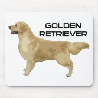 I Love My Golden Retriever Products & Designs! Mouse Pad