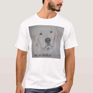 I love my Golden! Retriever T-shirt