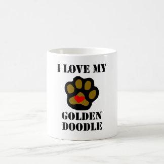 I Love My Goldendoodle Coffee Mugs