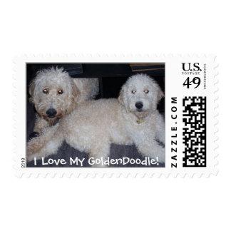 I Love My GoldenDoodle! Postage