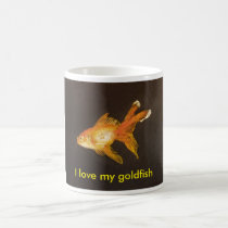 I love my Goldfish Coffee Mug