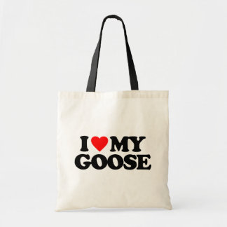 I LOVE MY GOOSE BAGS