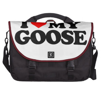 I LOVE MY GOOSE BAG FOR LAPTOP