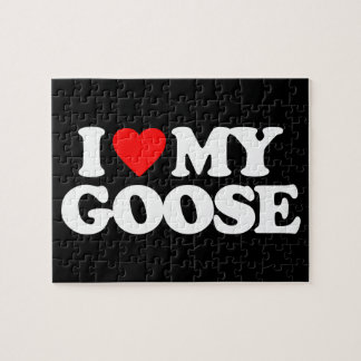 I LOVE MY GOOSE JIGSAW PUZZLE