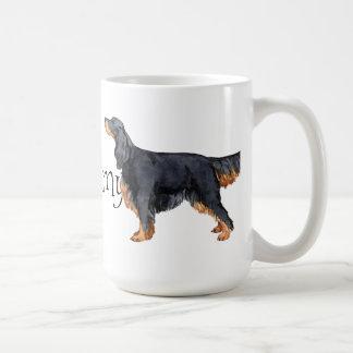 I Love my Gordon Setter Classic White Coffee Mug