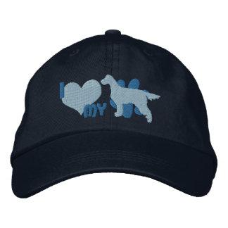 I Love my Gordon Setter Embroidered Hat (Blue)