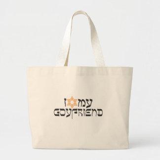 I love my goyfriend tote bag