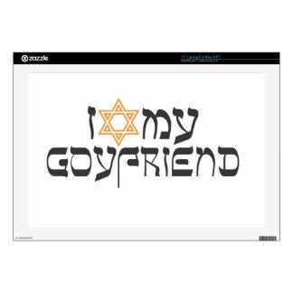 I love my goyfriend decals for laptops