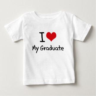 I Love My Graduate T Shirt